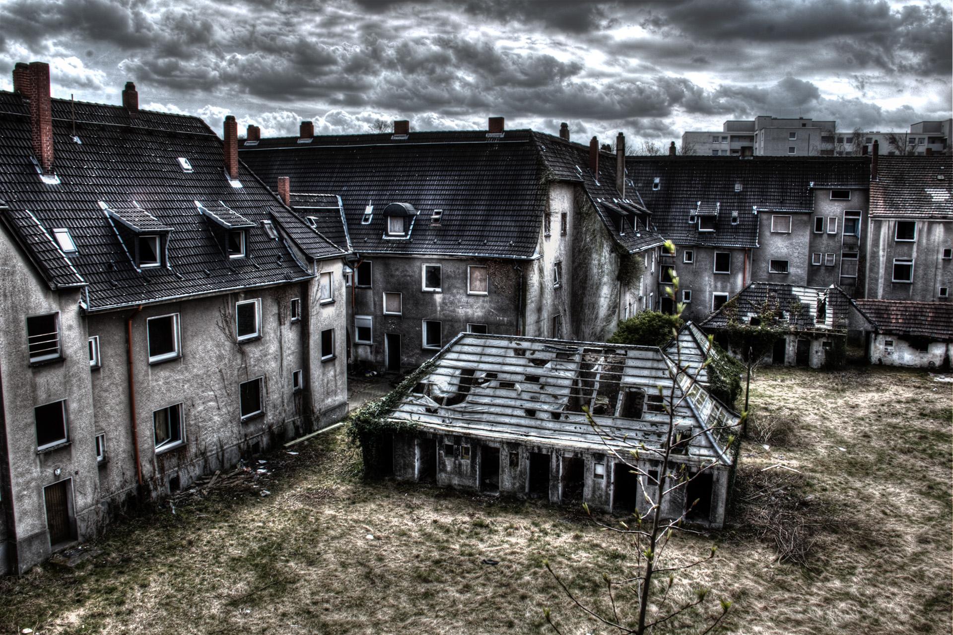 Gladbeck Zweckel – Schlägel und Eisen Siedlung