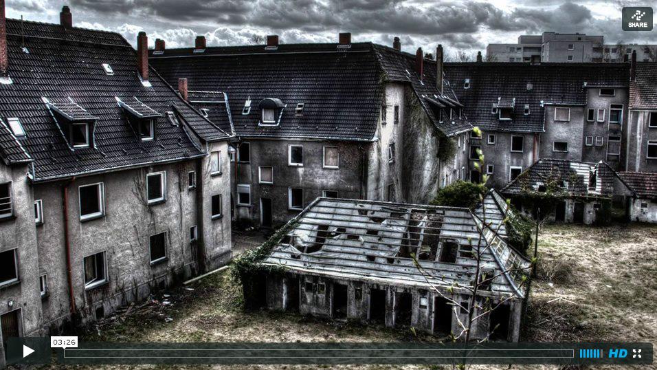 Gladbeck-Zweckel Schlägel und Eisen Siedlung — Video