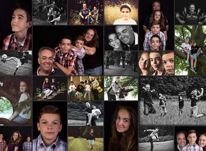 Familien Collage