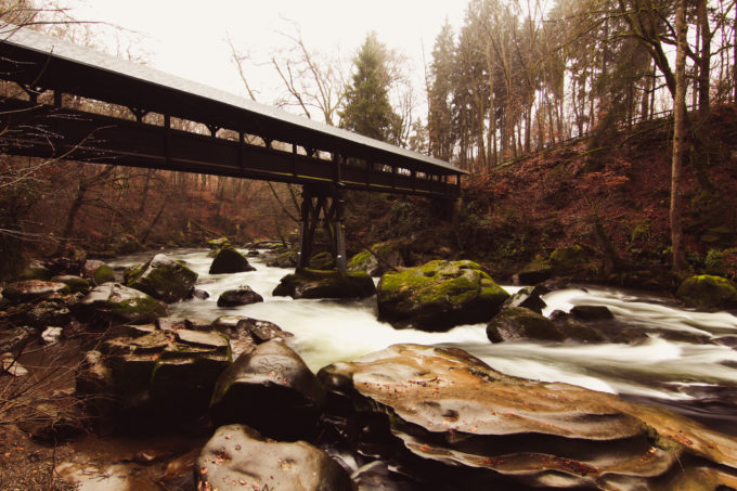 Irreler Wasserfälle nahe Luxemburg